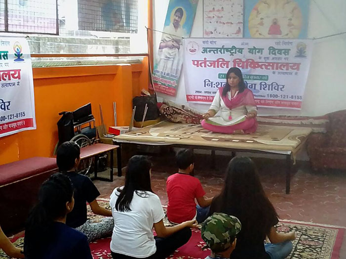 Divya Gurukulam-International Yoga Day
